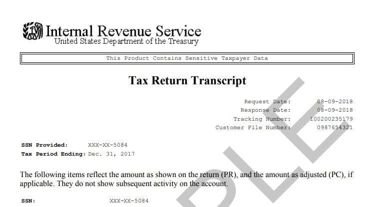 The New IRS Tax Transcript - RightWay Tax Solutions