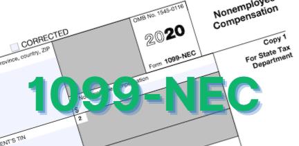 1099-NEC, Nonemployee Compensation